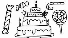 Malvorlagen Unicorn Cake Unicorn Cake Coloring Pages