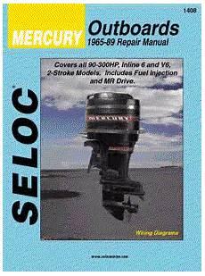 free online car repair manuals download 1989 mercury cougar electronic throttle control 1965 1989 mercury outboards 6 cylinder seloc repair manual