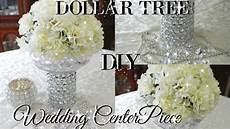 diy dollar tree bling floral wedding centerpiece 2017 petalisbless youtube