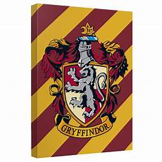Malvorlagen Harry Potter Gryffindor Harry Potter Gryffindor Crest Canvas