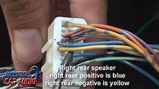nissan versa stereo wiring 2012 and up youtube