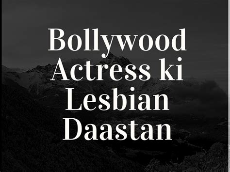 Bollywood Lesbian Sex