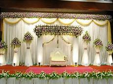 simple wedding decoration american simple wedding stage