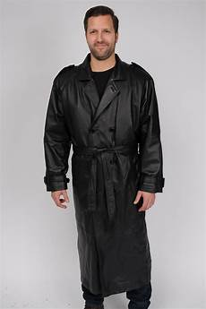 coats big and excelled s big and leather trench coat
