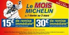 Promo Sur Les Pneus Promo Dafy 30 De Remise Sur Les Pneus Michelin
