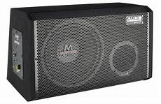 test car hifi subwoofer aktiv audio system m 12 active
