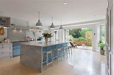 Kitchen Door To Garden by Kitchen Created In Space With Bifold Doors On To
