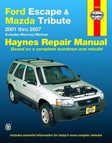online auto repair manual 2007 ford escape on board diagnostic system bestseller books online ford escape and mazda tribute 2001 2007 automotive repair manual