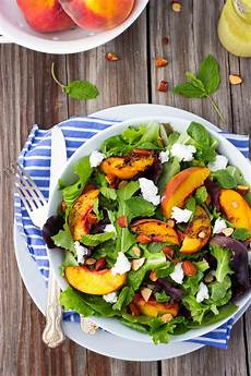grilled salad with goat cheese gluten free living