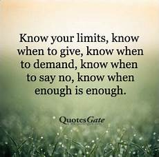 understanding when enough is enough quotes and images