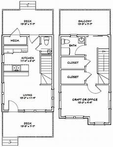 16x24 house plans 16x24 house 16x24h1e 1 075 sq ft excellent floor
