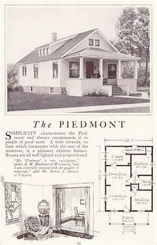 bungalow house plans 1920s 1922 lewis homes the piedmont vintage house plans kit