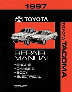 auto repair manual online 1997 toyota tacoma lane departure warning 1997 toyota tacoma oem repair manual rm508u