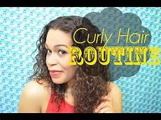 how to style curly hair without frizz my curly hair routine how to get curly hair