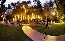 love an outdoor wedding at night