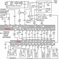 honda element speaker wiring complete oem audio schematic for ex and sc lified honda element owners club forum honda