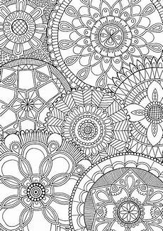malvorlagen free family mandalas colour with me hello by