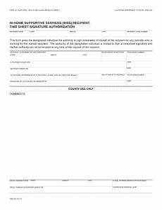 fillable online dss cahwnet ihss recipient time sheet signature authorization california