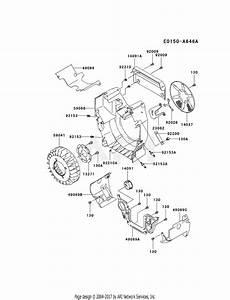 Kawasaki Fh770d As01 4 Stroke Engine Fh770d Parts Diagram