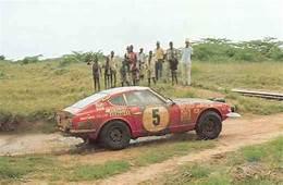 The DATSUN 240Z Rally Cars