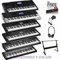 casio digital keyboard casio digital keyboard electric piano 61 ctk lk complete bundle with stand ebay