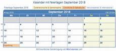 feiertage österreich 2018 214 sterreich kalender zum drucken september 2018
