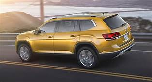 Volkswagen Atlas Seven Seat SUV Revealed  Photos CarAdvice