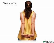 exercises with y and en 19114 care guides trihealth discover the power of unity arm and chest stretch trihealth