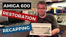 commodore amiga 600 restoration and recapping trouble