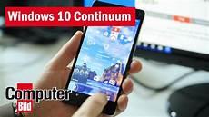 windows 10 continuum das handy als ersatz pc