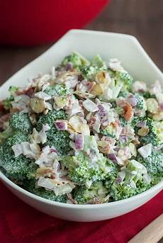 Low Carb Broccoli Salad Easy Healthy The Low Carb Diet