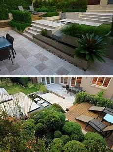 Terrassengestaltung Ideen Modern - terrasse am hang praktisch und modern gestalten 10 tolle