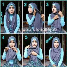 6 Tutorial Segi Empat Untuk Wajah Bulat Jilbab