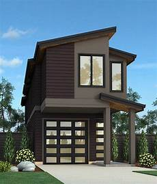 modern house plans for narrow lots narrow lot exclusive contemporary house plan 85151ms