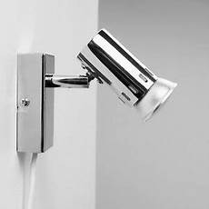 modern chrome single plug in ceiling wall spot light spotlight fitting lights ebay