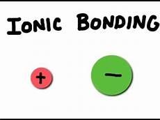 how do ionic bonds form youtube