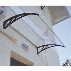 tettoie per finestre tettoia pensilina a vetro in policarbonato 120x150 cm per