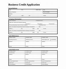 credit application template 13 free word pdf documents download free premium templates