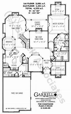 garrell associates house plans chastaine house plan 99139 garrell associates inc