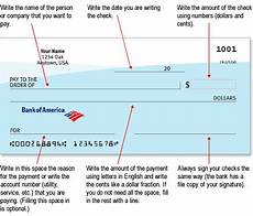 how to write a check this is an diagram how to fill