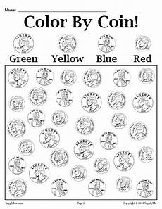 money worksheets printable 2699 color by coin free printable money worksheet supplyme