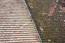mousse sur le toit anti mousse tuiles terre cuite rev 234 tements modernes du toit