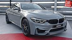 inside the new bmw m4 cs 2018 interior exterior details