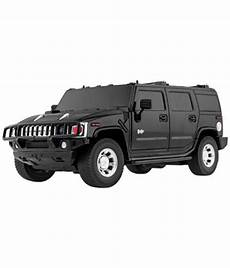 shopcros black rechargeable hummer car h2 suv with front