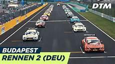 Dtm Budapest 2018 Rennen 2 Multicam Re Live