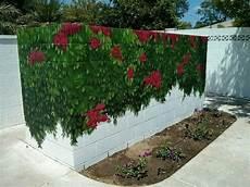 beton gartenmauer streichen poolside cinder block wall outdoor painted mural in