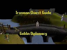 goblin diplomacy ironman quest guide