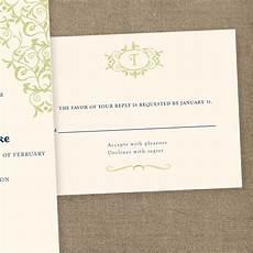 vintage monogram wedding invitation diy printable template