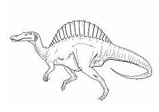 kleurplaat alamosaurus t rex mit palme ausmalbild