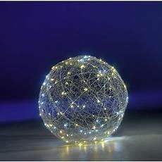 boule de noel lumineuse d 233 co boule lumineuse led clignotante chaude 216 45 cm